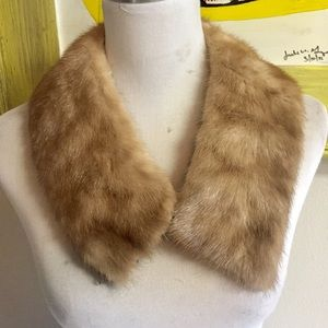 Vintage fur collar / trim for coat or sweater